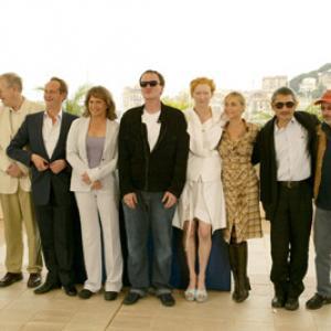 Quentin Tarantino, Emmanuelle Béart, Kathleen Turner, Hark Tsui, Edwidge Danticat, Benoît Poelvoorde, Jerry Schatzberg, Tilda Swinton and Peter von Bagh