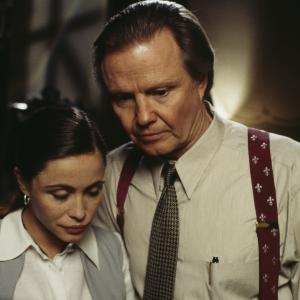 Still of Emmanuelle Béart and Jon Voight in Mission: Impossible (1996)