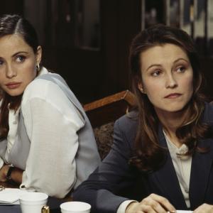 Still of Emmanuelle Béart and Ingeborga Dapkunaite in Mission: Impossible (1996)