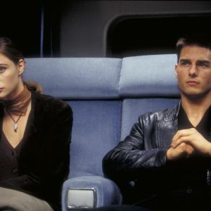 Still of Tom Cruise and Emmanuelle Béart in Mission: Impossible (1996)