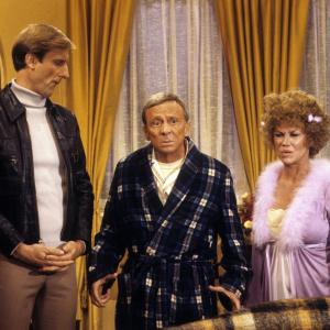 Still of James Cromwell Norman Fell and Audra Lindley in Threes Company 1977