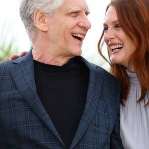 Julianne Moore, David Cronenberg