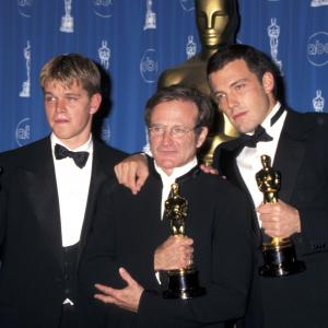 Robin Williams, Ben Affleck, Matt Damon