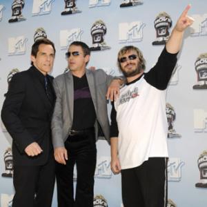 Robert Downey Jr Ben Stiller and Jack Black at event of 2008 MTV Movie Awards 2008