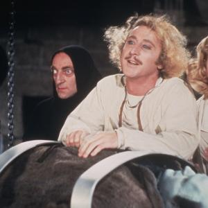 Mel Brooks, Teri Garr, Gene Wilder, Marty Feldman
