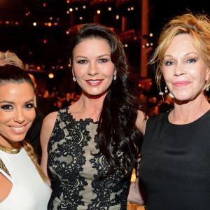 Melanie Griffith, Catherine Zeta-Jones, Eva Longoria