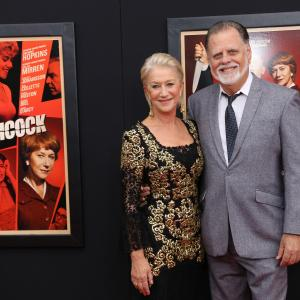 Taylor Hackford and Helen Mirren at event of Hickokas (2012)