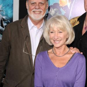 Taylor Hackford and Helen Mirren at event of Jonah Hex (2010)