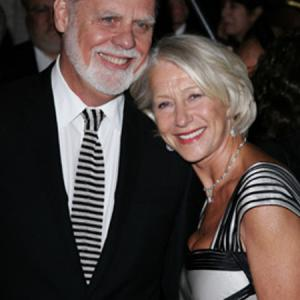 Taylor Hackford and Helen Mirren at event of The Queen (2006)