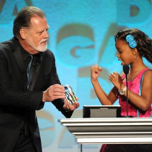 Taylor Hackford and Quvenzhané Wallis