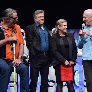 Anthony Daniels, Carrie Fisher, Mark Hamill, Peter Mayhew