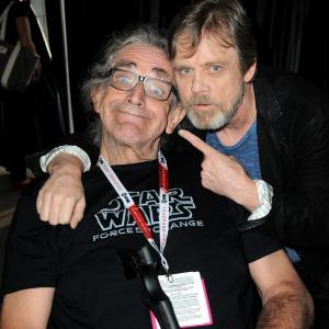 Mark Hamill, Peter Mayhew