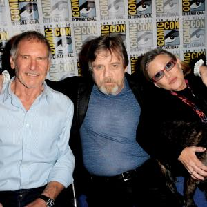 Harrison Ford, Carrie Fisher, Mark Hamill