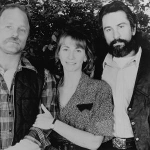 Still of Robert De Niro Ed Harris and Kathy Baker in Jacknife 1989