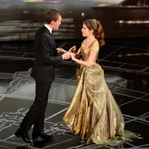 Neil Patrick Harris and Anna Kendrick at event of The Oscars (2015)