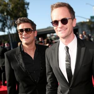 Neil Patrick Harris and David Burtka in The 57th Annual Grammy Awards (2015)