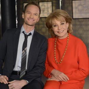 Still of Neil Patrick Harris and Barbara Walters in The Barbara Walters Special (1976)
