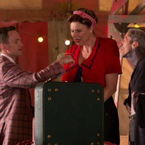 Still of Neil Patrick Harris and Erika Ervin in Amerikietiska siaubo istorija (2011)