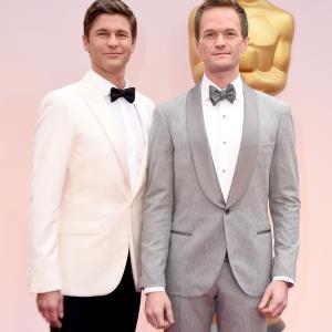 Neil Patrick Harris and David Burtka at event of The Oscars (2015)