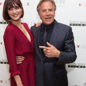 Don Johnson, Mary Elizabeth Winstead
