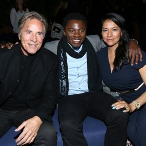 Don Johnson, Sophia Adella Luke, Derek Luke