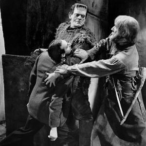 Son of Frankenstein Boris Karloff Bela Lugosi 1939 Universal IV