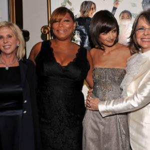 Diane Keaton Queen Latifah Katie Holmes and Callie Khouri at event of Mad Money 2008