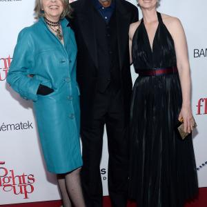 Morgan Freeman Diane Keaton and Cynthia Nixon at event of Musu gyvenimas 2014