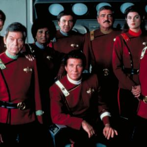 Kirstie Alley, Walter Koenig, Leonard Nimoy, William Shatner, James Doohan, DeForest Kelley, George Takei, Nichelle Nichols