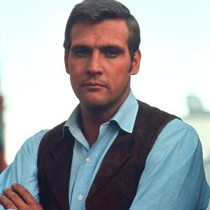 The Big Valley Lee Majors on the set 1966 ABC