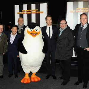 John Malkovich, Eric Darnell, Ken Jeong, Tom McGrath, Simon J. Smith, Benedict Cumberbatch