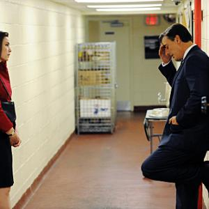 Still of Julianna Margulies and Chris Noth in The Good Wife 2009