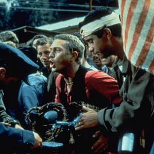 Still of Steve McQueen in The Great Escape 1963
