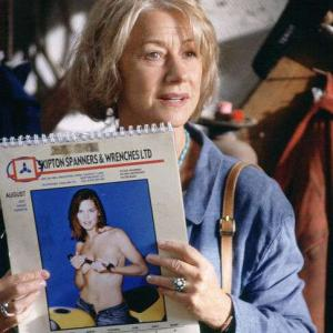 Helen Mirren in Calendar Girls 2003