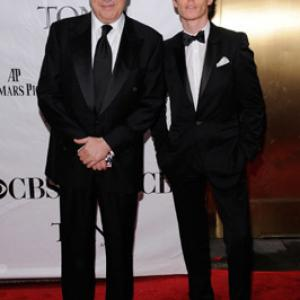 Alfred Molina and Eddie Redmayne