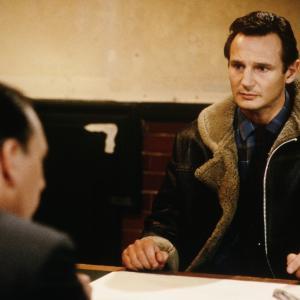 Still of Liam Neeson and Kenneth Cranham in Under Suspicion 1991