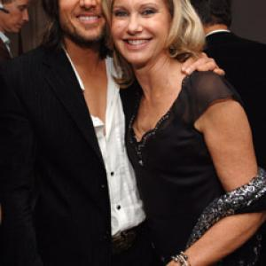 Olivia Newton-John and Keith Urban