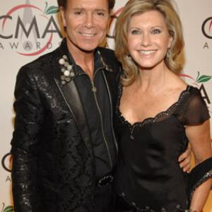 Olivia Newton-John and Cliff Richard