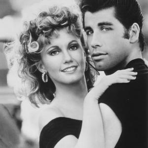 John Travolta and Olivia Newton-John in Grease (1978)
