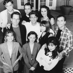Still of Olivia Newton-John, Eric Roberts, Bronson Pinchot, George Segal, Gregory Harrison, Dimitra Arliss, Margaret Cho, Marlee Matlin and Paul Regina in It's My Party (1996)