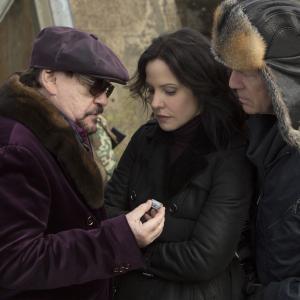 Still of Bruce Willis MaryLouise Parker and Brian Cox in Rizikinga Erzinti Diedukus 2 2013