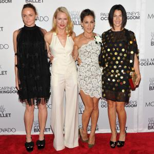 Sarah Jessica Parker Stella McCartney Naomi Watts and Jessica Seinfeld