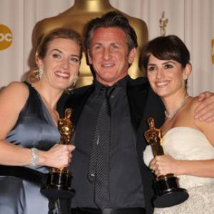 Sean Penn Kate Winslet and Penlope Cruz
