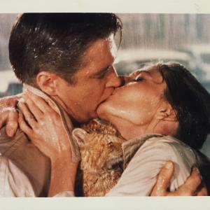 Audrey Hepburn and George Peppard in Pusryciai pas Tifani 1961