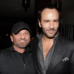 Joe Pesci and Tom Ford at event of A Single Man 2009