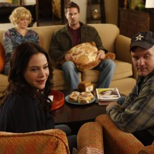 Still of Martha Plimpton, Mike O'Malley, Garret Dillahunt and Liza Snyder in Mazyle Houp (2010)