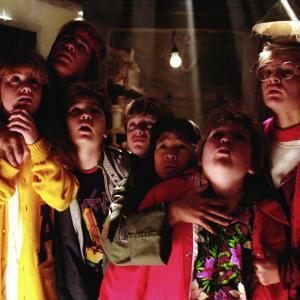 Still of Sean Astin, Corey Feldman, Martha Plimpton, Josh Brolin and Jeff Cohen in The Goonies (1985)