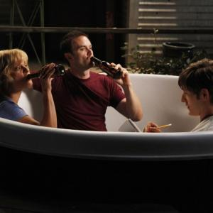 Still of Martha Plimpton, Garret Dillahunt and Jimmy Lucas in Mazyle Houp (2010)