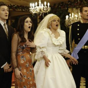 Still of Martha Plimpton, Garret Dillahunt, Shannon Woodward and Lucas Neff in Mazyle Houp (2010)