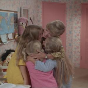 Still of Eve Plumb, Florence Henderson and Susan Olsen in The Brady Bunch (1969)